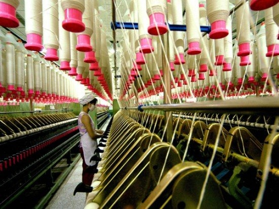 El gas natural en la industria textil