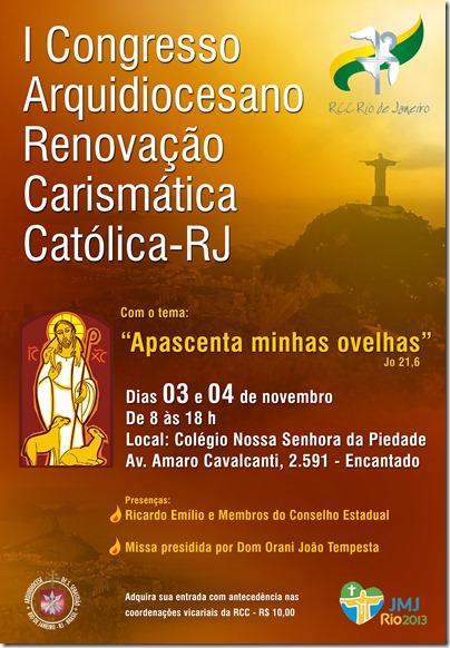 cartaz congresso arquidiocesano