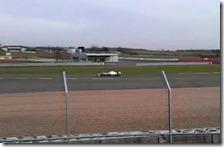 La Mercedes W03 a Silverstone