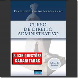 Curso de Direito Administrativo - 3.036 questões