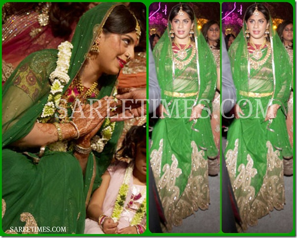 Upasana_Green_Traditional_Saree