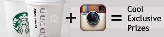 Starbucks Instagram Promo