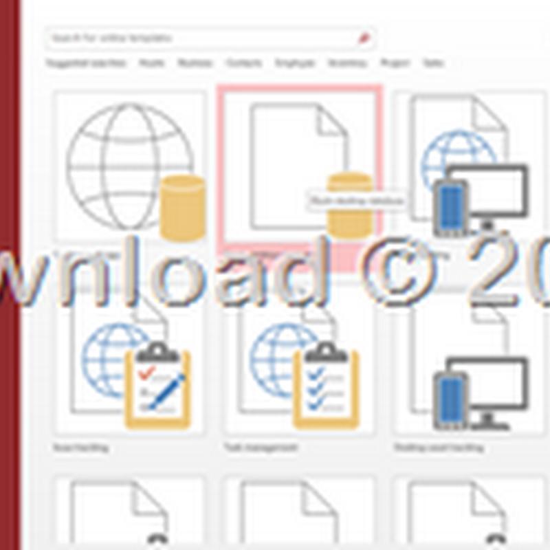Mengenal dan Memulai Microsoft Access 2013
