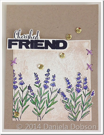 Cherished friend by Daniela Dobson