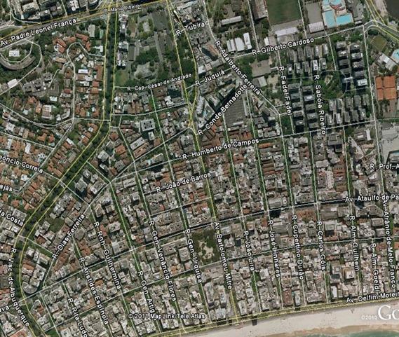 Mapa Geral Google Earth