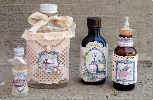 vintage bottles-by Jan