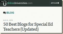 50 Best Blogs for Special Ed Teachers  Updated    Online Universities