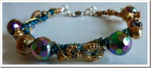 wire wrapped bracelet 1