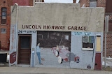 """Lincoln Highway Garage"" - copyright David Thompson"