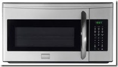 over stove microwave stainless
