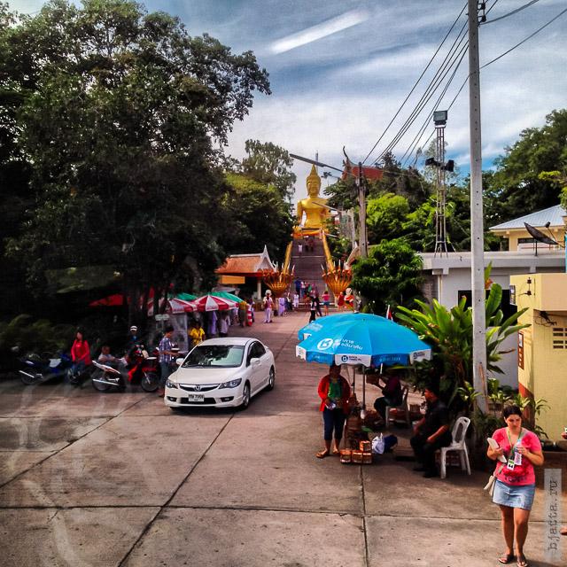 2. 2555. Таиланд. Патайя. Храм Будды. Thailand. Pattaya. Buddha temple.