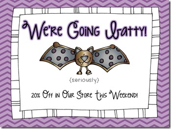 going batty sale