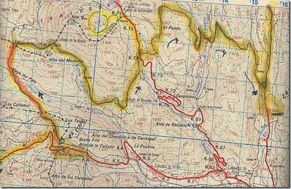 Mapa 2º Etapa