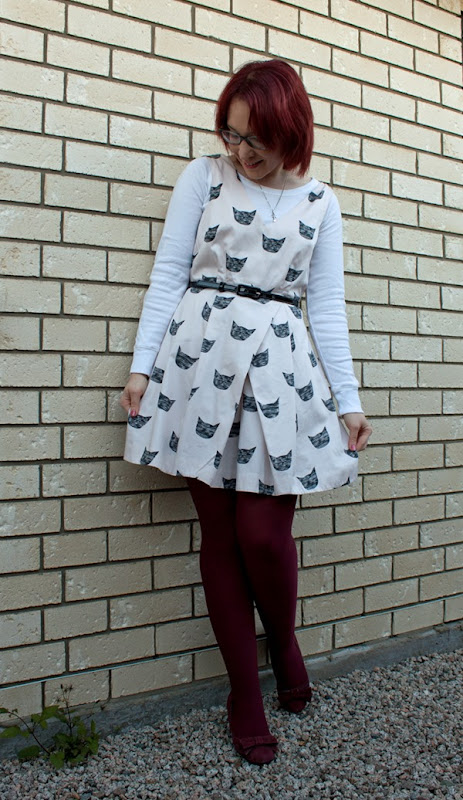 leah goren cat dress