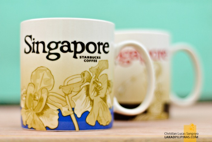 Orchid Singapore Starbucks Global Icon City Mug