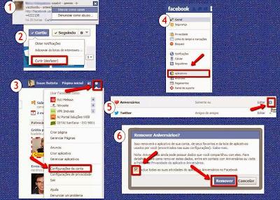 Passos para remover definitivamente as ameaças como vírus no Facebook