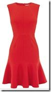 Karen Millen Frilled Hem Dress