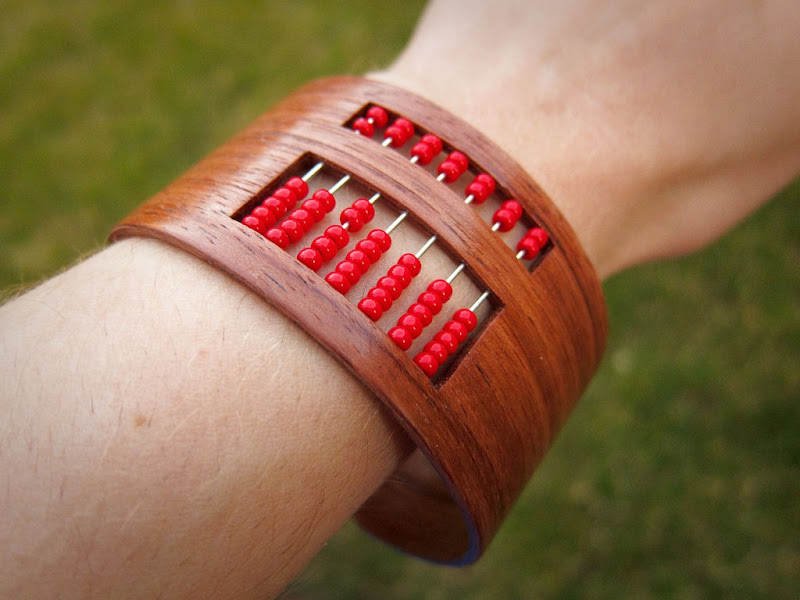 DIY Abacus Bracelet via Instructables