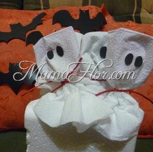Como decorar los dulces para Halloween