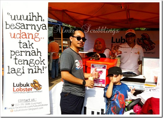 Lubuk lobster banner