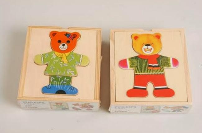 Ενημέρωση για επικινδυνότητα παιχνιδιών «Ξύλινο παζλ Αρκουδίτσες» μάρκας Tiger με κωδικό 1701226