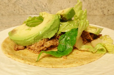 Pulled Chicken Taco 2