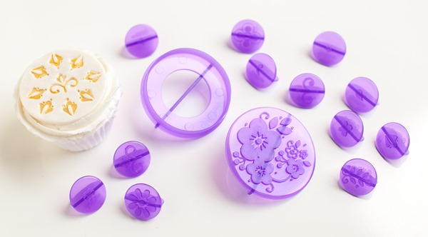 Wilton 14 pc. Flowers Fondant Cut-Out Decorating Set