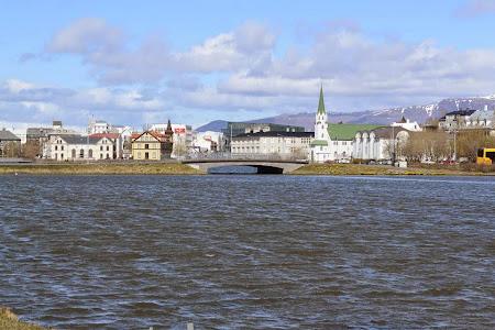 Obiective turistice Islanda: Reykjavik.