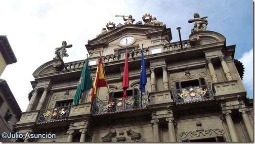 Ayuntamiento de Pamplona - Fachada