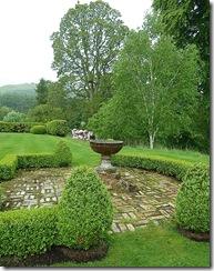 a bit of formal garden