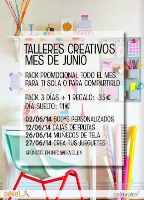 Programa talleres creativos Bével