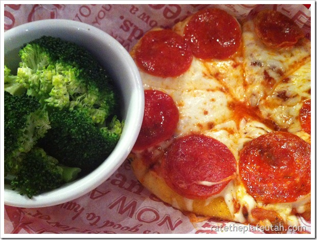 Red Robin Kids Pepperoni Pizza