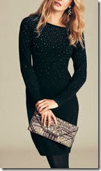 Monsoon Sequin Knitted Dress