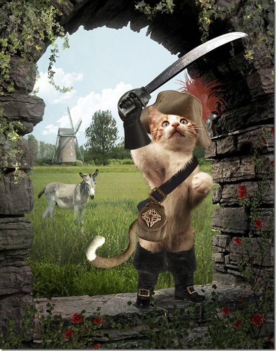 El Gato con Botas,El gato maestro,Cagliuso, Charles Perrault,Master Cat, The Booted Cat,Le Maître Chat, ou Le Chat Botté (162)
