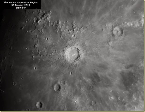 30 January 2015 Moon Copernicus