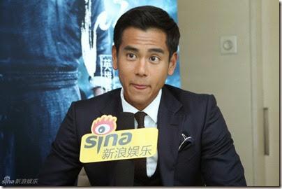 """2014.08.10 Eddie Peng during Rise of the Legend - 彭于晏 黃飛鴻之英雄有夢 烏鎮 - """"傳奇重生""""發佈會 02"""