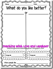 Kindergarten and First Grade Writing Forms Part 1