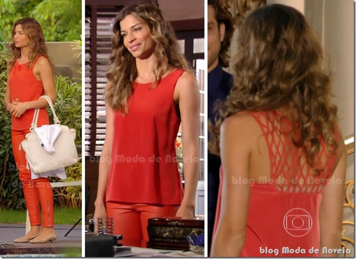 moda da novela flor do caribe - ester capítulo 03 de maio de 2013