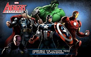 Screenshot of Avengers Alliance