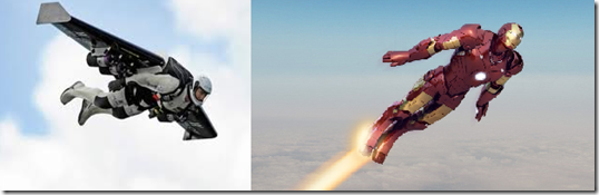 Iron man's jet pack