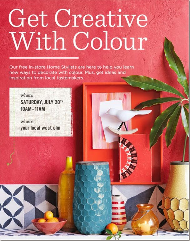West Elm - Get Creative with Colour