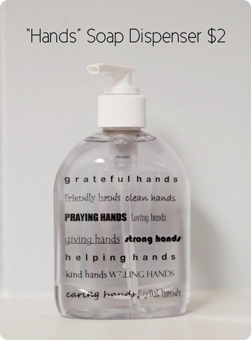 Hands Soap Dispenser