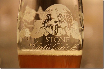 Stone IPA glass