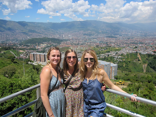 View of Medellin from the last stop on the Metrocable.