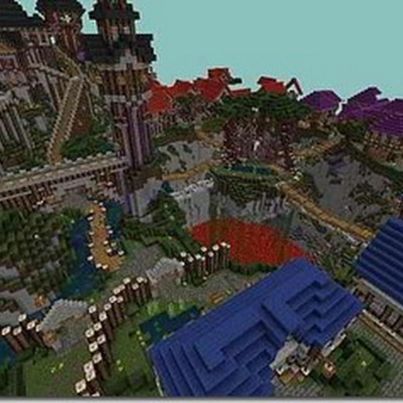 Minecraft 1.2.5 - BigZanE´s Realistic Mix Texture Pack (64x)