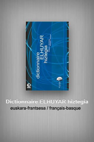 Dictionnaire Elhuyar eu-fr