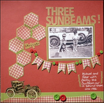 three sunbeams