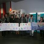 Empfangskommitee am Flughafen Basel