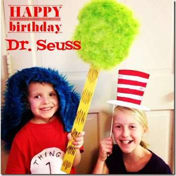 Dr. Seuss Photo Props obSEUSSed