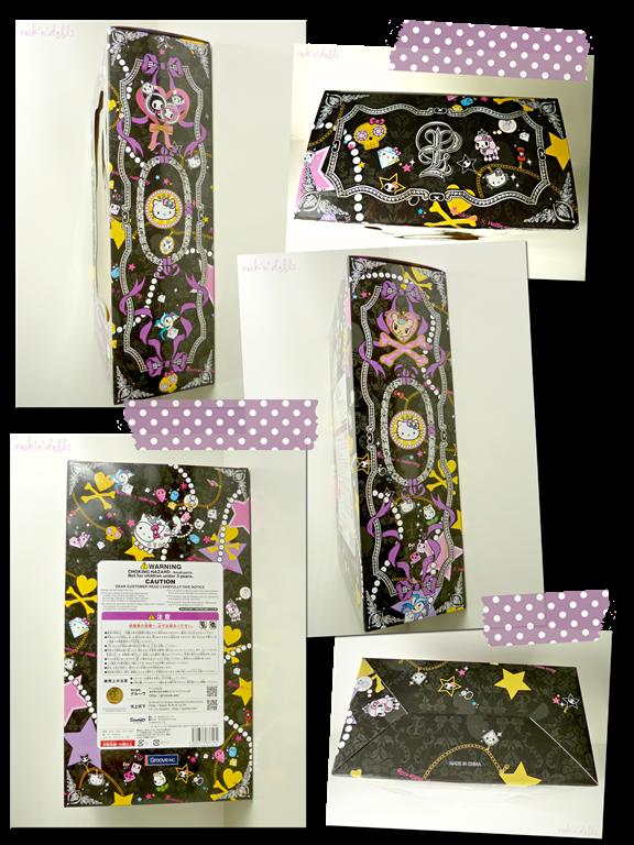 pullip tokidoki x hello kitty violetta caja review